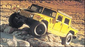 am-general hummer Open Top, Hard Doors
