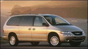 chrysler town-country LXi AWD