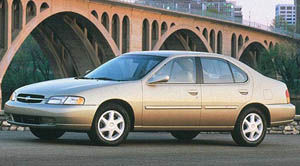 Nissan altima 1998 gxe