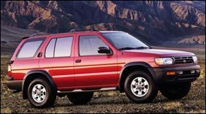 nissan pathfinder Chilkoot Trail