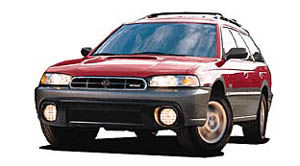1998 subaru outback weight