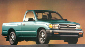 1999 toyota tacoma curb weight