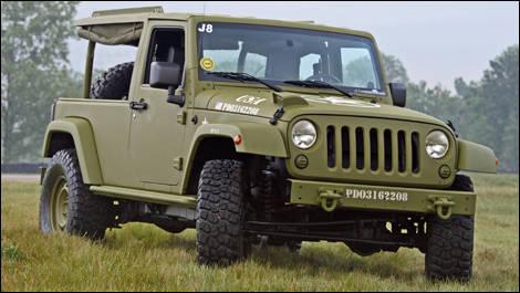 Jeep Wrangler J8 Sarge Prototype Video Car News Auto123