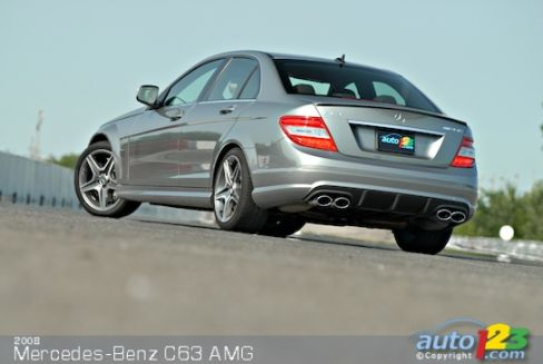 2008 Mercedes-Benz C63 AMG Review Editor's Review | Car News | Auto123