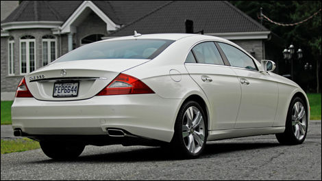 2009 mercedes cls550 review