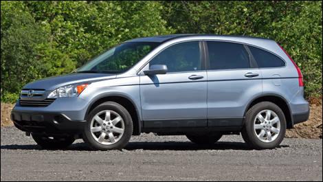 2008 Honda CR V EX L Review