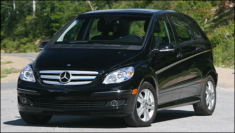 2008 mercedes benz b200 turbo review editor 39 s review car. Black Bedroom Furniture Sets. Home Design Ideas
