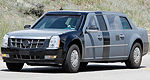 "Scoop! New Presidential Cadillac Limousine Caught : the ""Obama-mobile""!"