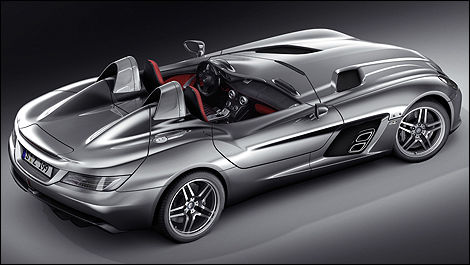Mercedes Mclaren Slr Stirling Moss In Detroit Car News Auto123