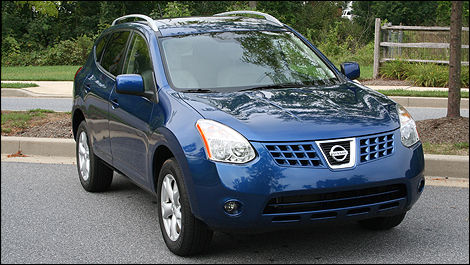 2009 Nissan Rogue Review (video)