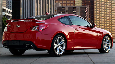 2010 Hyundai Genesis Coupe Preview | Car News | Auto123