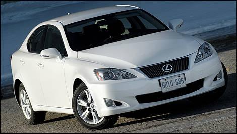 lexus is 250 2009 essai routier essai routier actualit s automobile auto123. Black Bedroom Furniture Sets. Home Design Ideas
