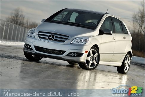 2009 mercedes benz b200 turbo review editor 39 s review car. Black Bedroom Furniture Sets. Home Design Ideas