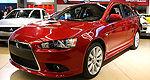 North-American debut of the Mitsubishi Lancer Sportback at the Montreal Auto Show