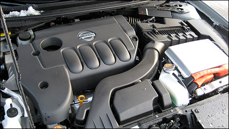 Combined, The 2.5 Litre Engine And Electric Motor Produce 198 Horsepower  And 162 Lb Ft Of Torque.