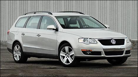 2009 volkswagen passat wagon 2.0t comfortline review editor's review