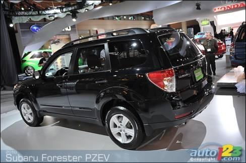 2010 Subaru Forester Pzev And Subaru G4e Concept In Toronto Car