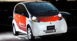 The Mitsubishi i MiEV at the 79th edition of the Geneva Auto Show