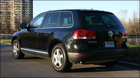 volkswagen touareg 2004 2007 occasion actualit s automobile auto123. Black Bedroom Furniture Sets. Home Design Ideas