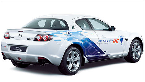 Mazda Builds First RX-8 Hydrogen RE for Norway | Car News | Auto123