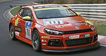 Natural gas-powered VW Scirocco to race at Nürburgring