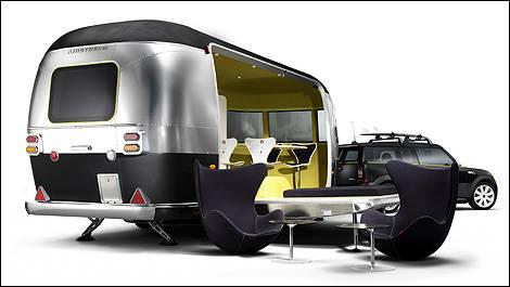 La Mini Cooper S Clubman Et Sa Remorque Airstream Actualités