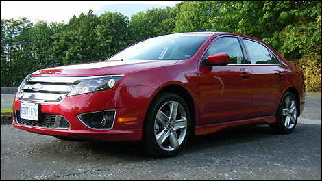 2010 Ford Fusion Sport Awd Review
