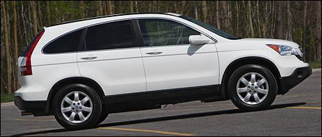 2009 Honda CR V EX L AWD Review