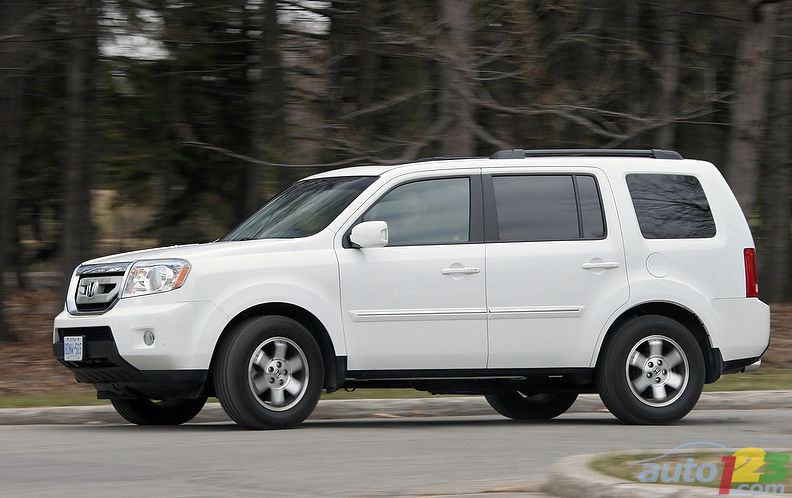 I Give You The Honda Pilot Touring, A Luxurious SUV Designed To Expand Your  Horizons On A Daily Basis.