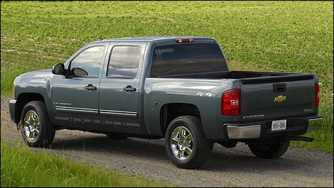 chevrolet silverado 1500 4rm hybride 2009 essai routier essai routier actualit s automobile. Black Bedroom Furniture Sets. Home Design Ideas