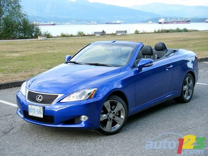 Lexus is 250 convertible review