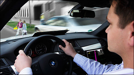 Bmw One Step Closer To Accident Free Mobility Car News Auto123