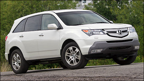 Acura mdx 2010 consommation