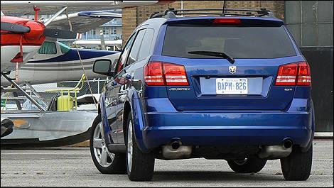 2009 Dodge Journey Sxt Review Video Editor S Review Car Reviews