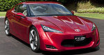 Toyota FT-86 sports car concept