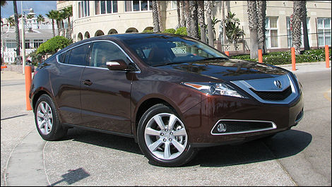 Acura ZDX First Impressions Editors Review Car Reviews Auto - Used acura zdx for sale