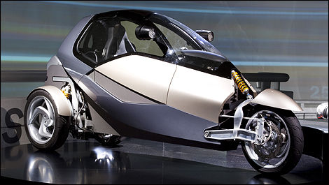 BMW CLEVER Concept : cooperative driving pleasure | green