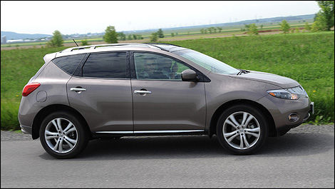 2009 Nissan Murano LE AWD Review