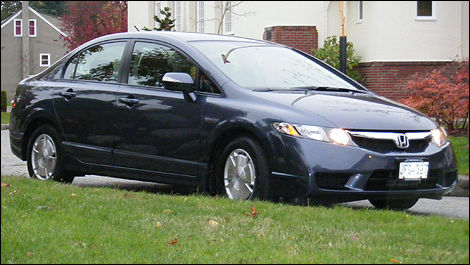 Superb 2009 Honda Civic Hybrid Review