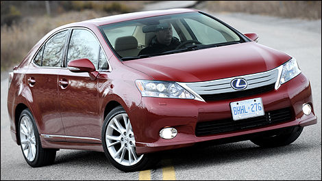 Perfect 2010 Lexus HS 250h Ultra Premium Review