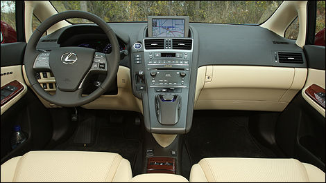 The Dash Surrounds The Driver And The Centre Console Extends Towards The  Centre Of The Cabin.