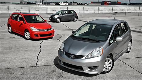 Subcompact Hatchback Comparison Test Editor S Review Car Reviews Auto123