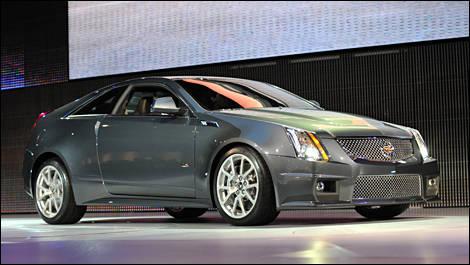 Detroit Autoshow 2010 Cadillac Cts V Coupe Auto Shows Auto123