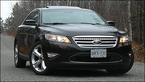 2010 Ford Taurus Sho Review Video Editor S Review Car Reviews