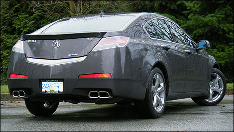 2010 Acura Tl Sh Awd Tech Review