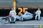 F1: Photo gallery of the new Mercedes, Renault, Sauber and Toro Rosso cars