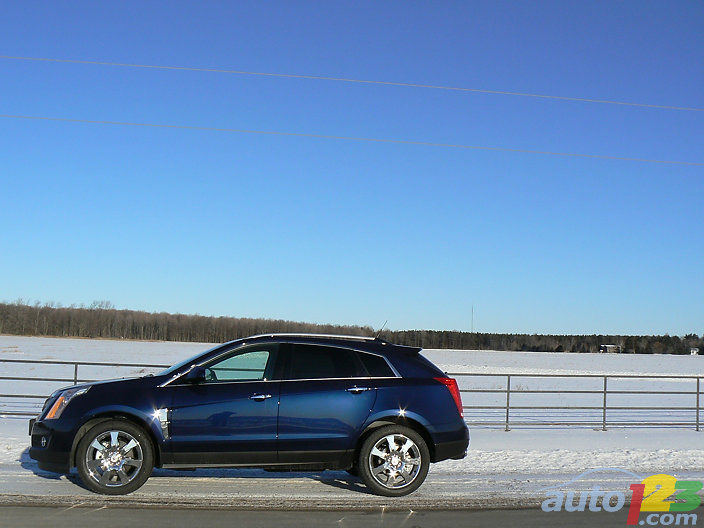 2010 Cadillac Srx4 Performance Review Editor S Review