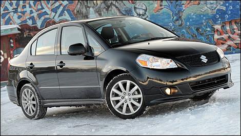 2010 Suzuki SX4 Sport Sedan Review Editor's Review | Car Reviews