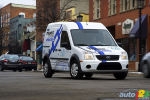 2011 Ford Transit Connect Electric : Collaboration with Azure Dynamics Corporation