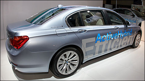 2010 Toronto Autoshow: BMW launches ActiveHybrid 7 into Canadian ...